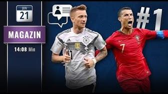 Ronaldo torgefährlichster Europäer – Reus in der Startelf?