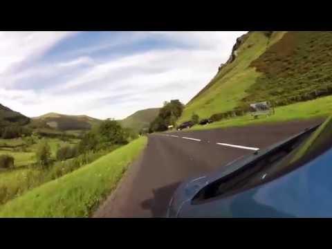 downhill a487, Snowdonia, near Corris