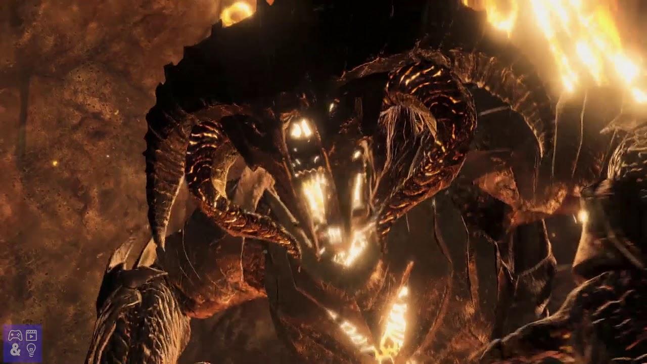 Shadow Of War Carnan S Bane Balrog Boss Fight Youtube