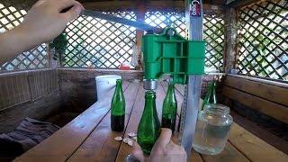 Стационарный укупориватель пивных бутылок GRIFO
