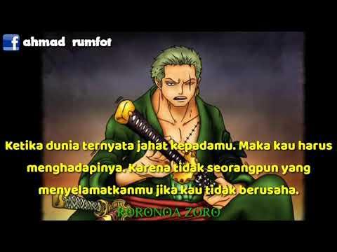Quotes Bijak Roronoa Zoro Youtube