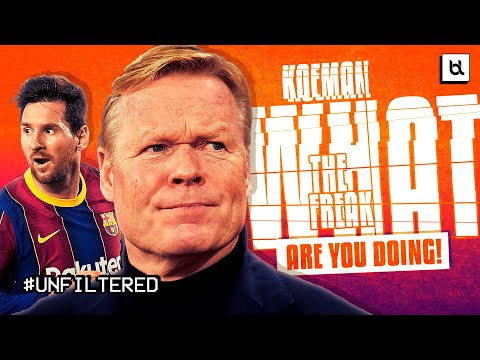 Is Ronald Koeman NOW Part Of The Problem At Barcelona?