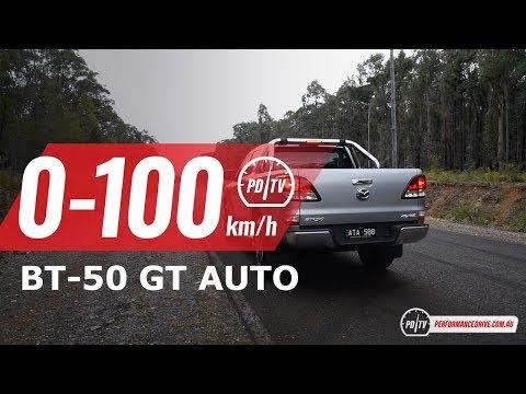 2018 Mazda BT-50 GT (2WD vs 4WD) 0-100km/h & engine sound
