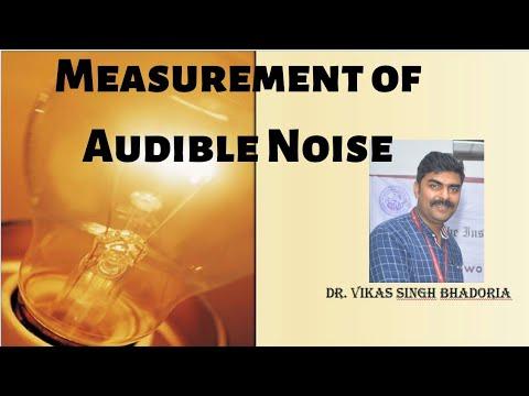 Measurement of Audible Noise