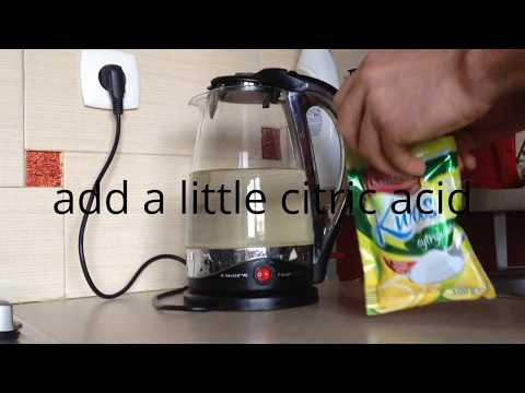 How to Clean an Electric Water Kettle