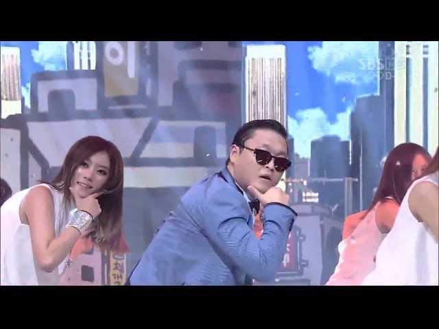 PSY_0715_SBS Inkigayo_GANGNAM STYLE (강남스타일)