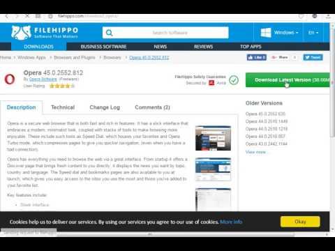 How To Download Opera MIni Latest Version | Filehippo.com