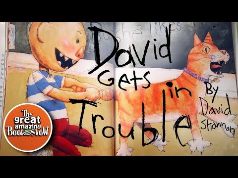 David Gets In Trouble - By David Shannon - Read Aloud - Bedtime Story