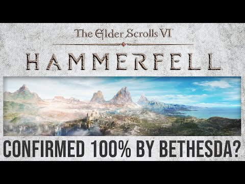 NEW Elder Scrolls 6 REDFALL Location Was Just Confirmed by Bethesda – Hammerfall & High Rock?