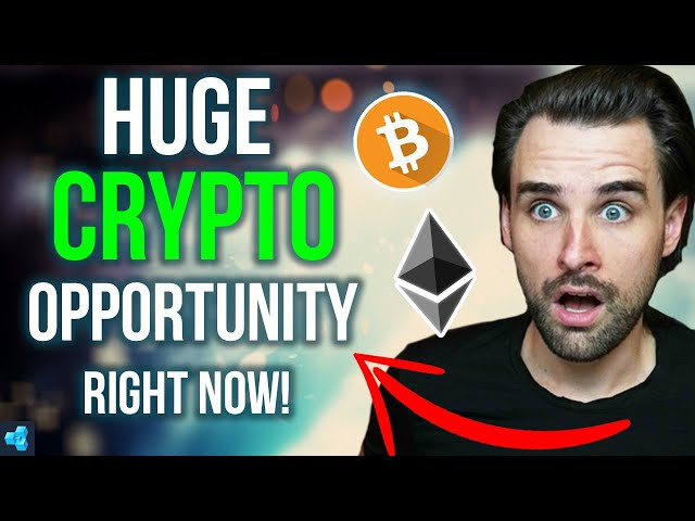 THIS IS A HUGE OPPORTUNITY IN CRYPTO!