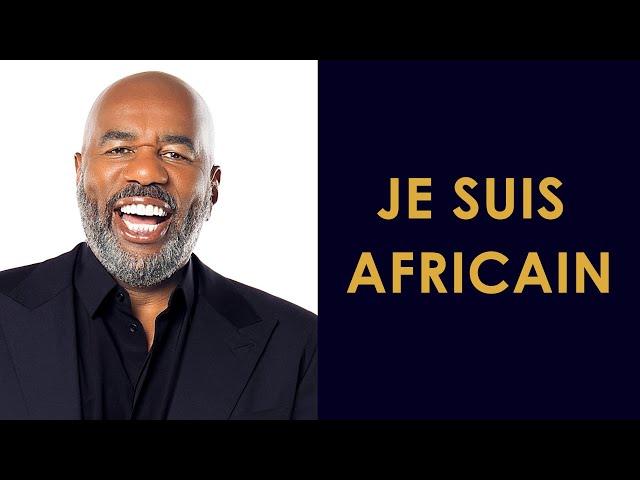 L'inspirant discours de Steve Harvey | Je suis Africain | African Heroes
