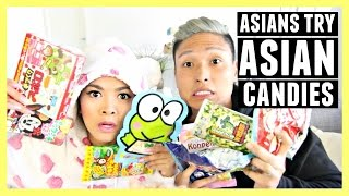 Gambar cover ASIANS TRY ASIAN CANDY