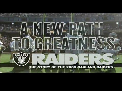 2008 Oakland Raiders Yearbook