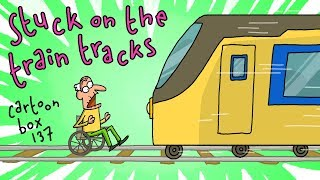 Stuck On The Train Tracks | Cartoon Box 137 | By Frame Order | Funny animated cartoons