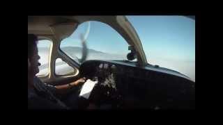 Cessna 421C Golden Eagle Flight [HD]