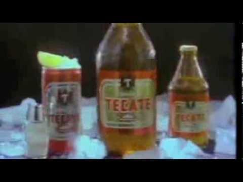 comercial cerveza tecate caguama 1984 méxico youtube
