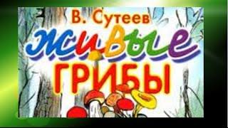 Живые грибы. Сутеев В. Г.