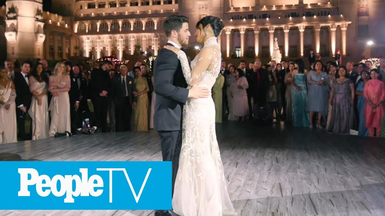 87b5aa7a3d See Nick Jonas And Priyanka Chopra's First Dance | PeopleTV - YouTube