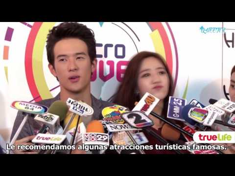 SUBESP II Eunjung y James Ma en entrevista por su película: Microlove