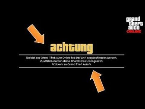 ROCKSTARS ANTI CHEAT SYSTEM UMGEHEN! BANN IN GTA 5 ONLINE LOSWERDEN! [Deutsch]