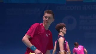 Celcom Axiata Malaysia Open 2016 | Badminton QF M4-MS | Viktor Axelsen vs Lee Chong Wei