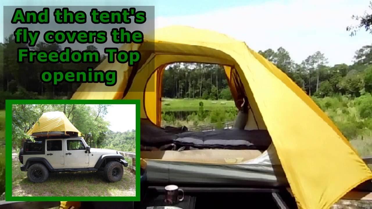 Diy Tent Jeep Roof Rack Diy Tent Rackabilities Youtube