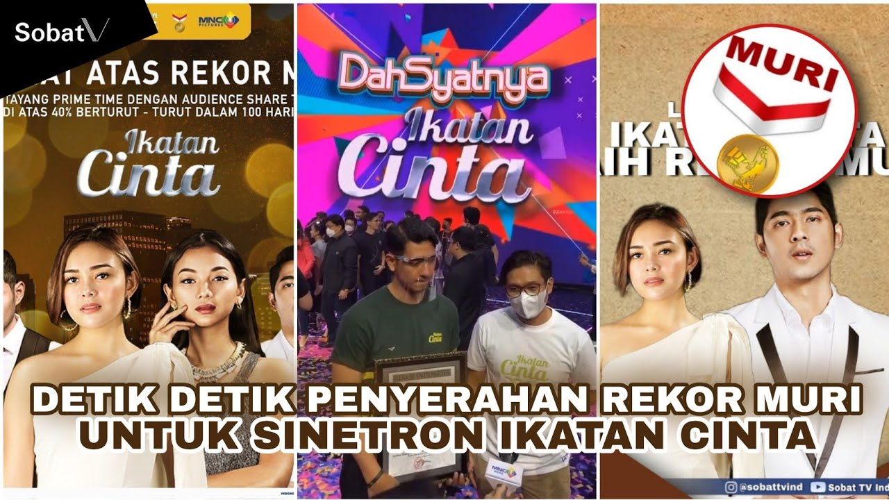 LUAR BIASA! Sinetron Ikatan Cinta Raih Rekor Muri | #SobatTVInfo