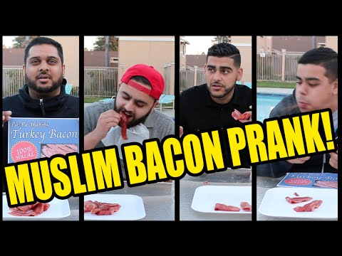 THE MUSLIM BACON PRANK