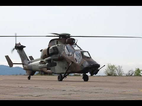 French Army Tiger Attack Helicopter Ec665 Airbus
