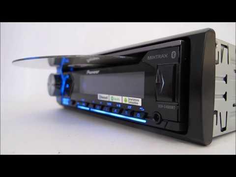CD Player Pioneer DEH-S4080BT Mixtrax com RDS - Canal ClickSound