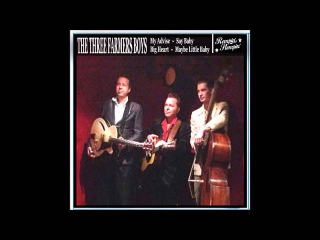 The Three Farmers Boys New promo Ep 45' vinyl record will be out this year (2015)
