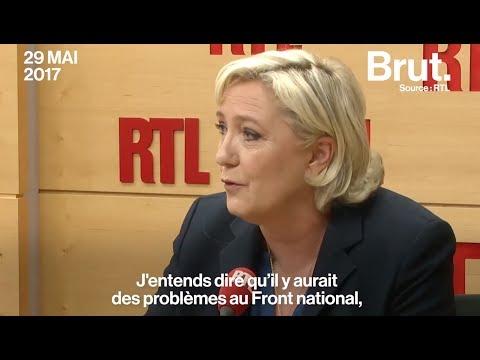 Désaccords au FN : pour Marine Le Pen, tout va bien