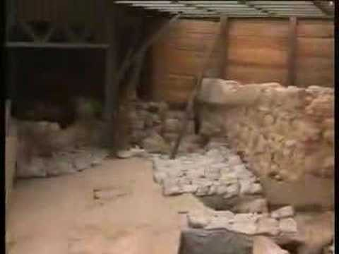 Discoveries at City of David (Zion), 2007 (part 1)
