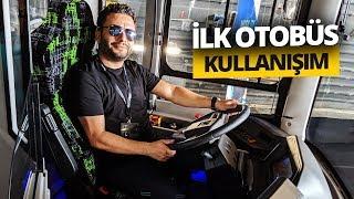 Elektrikli otobüs kullandık! vLog (Karsan'ın Atak Lansmanı)