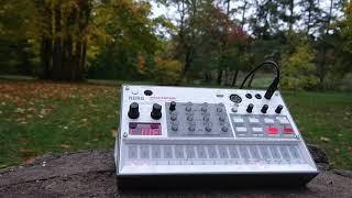 Korg Volca Sample 2   Autumn ambient jam in the park in Berlin