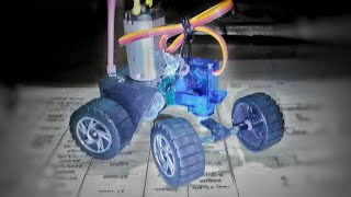 How to make rc car steering