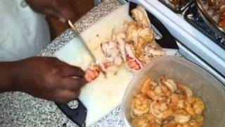 CHEF VES lobster and shrimp mac n cheese