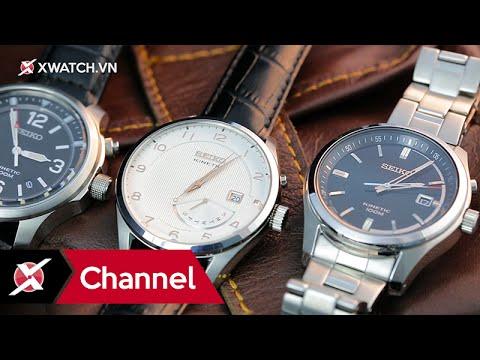 TOP 3 đồng hồ SEIKO KINETIC tầm giá 6 triệu đồng - Xchannel