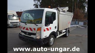 Youtube-Video Nissan Cabstar 35.11 Müllwagen 5m³ Alu-Kipper Presse Kammschüttung 3,5 tonnen