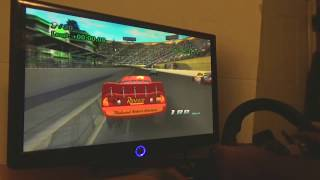 Cars (Wii) with 270 Degree Steering Wheel in Dolphin