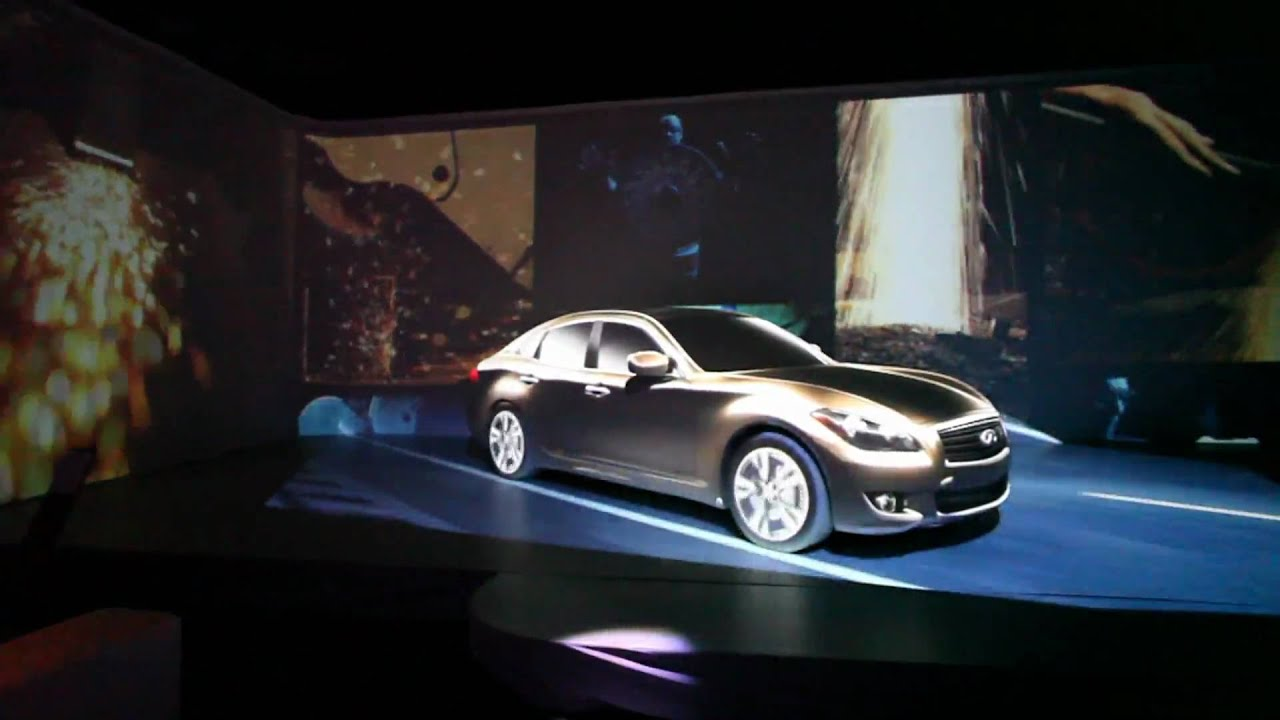 3d Mapping Projection On A Car