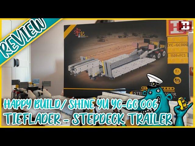 Happy Build YC-GC 006 Tieflader: 1 Meter an grandiosem Anhänger-Spaß?