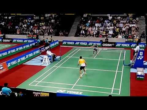 Taufik Hidayat vs Parupalli Kashyap - Part 4/7 - BWF India Open 2013