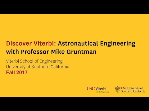 Discover Viterbi Astronautical Engineering