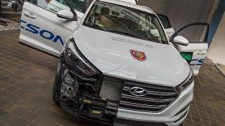 POŽÁRY.cz: Hasiči z HZS MSK rozřezali Hyundai Tucson a odhalili jeho vnitřnosti
