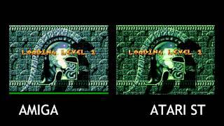 Amiga V Atari ST - Gods