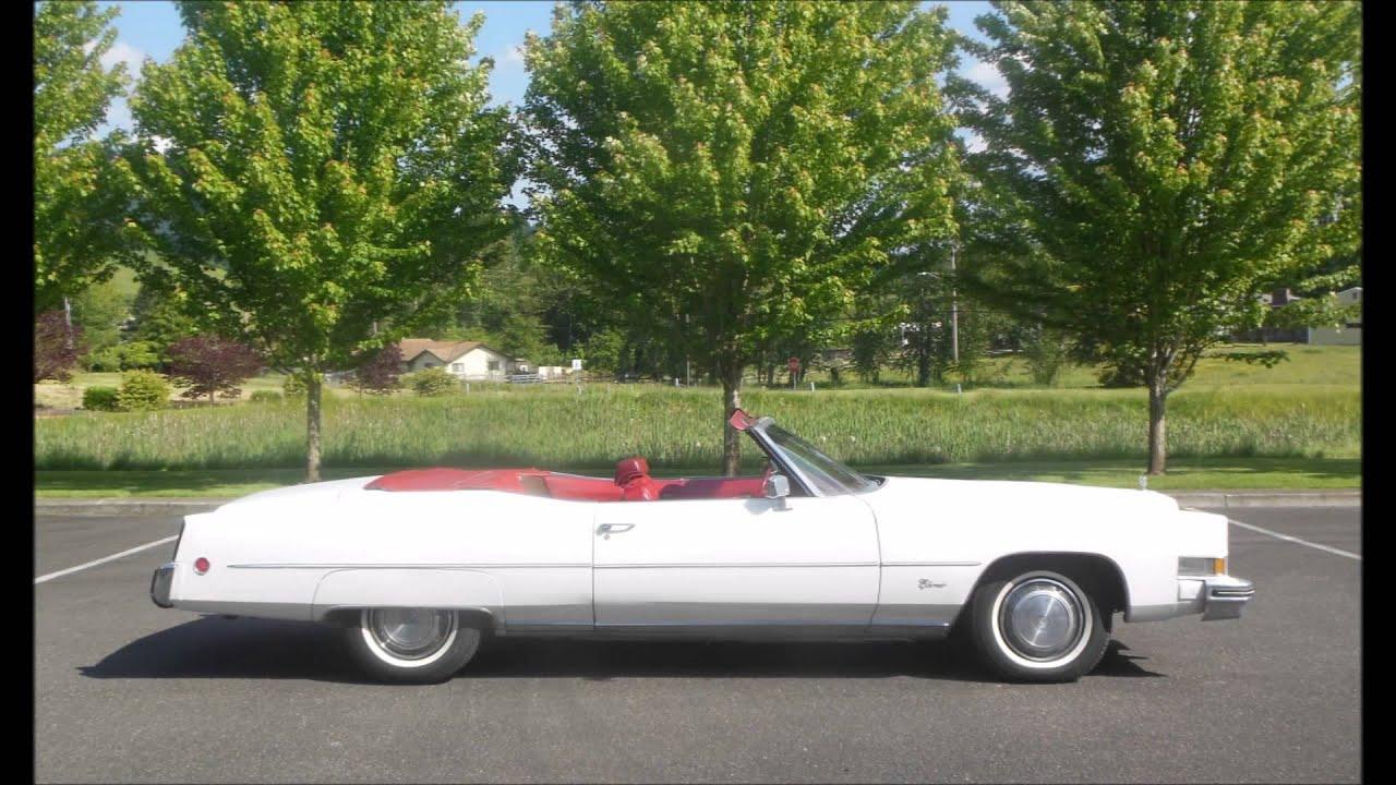 1973 Cadillac Eldorado Convertible - YouTube