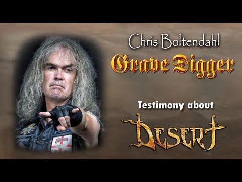 Chris Boltendahl (GRAVE DIGGER) testimony - Desert band - Crowdfunding Campaign