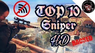 TOP 10 Offline game sniper Android HD 《hacked money》 #1