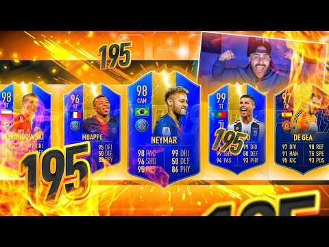 WOW THIS DRAFT IS INSANE! 195 DRAFT CHALLENGE!! FIFA 19 Ultimate Team